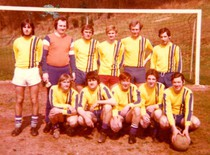 Zweite Mannschaft der SG Stadtfeld 1976