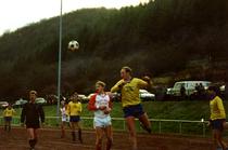 Spiel der Ersten Mannschaft der SG Stadtfeld gegen Ernzen